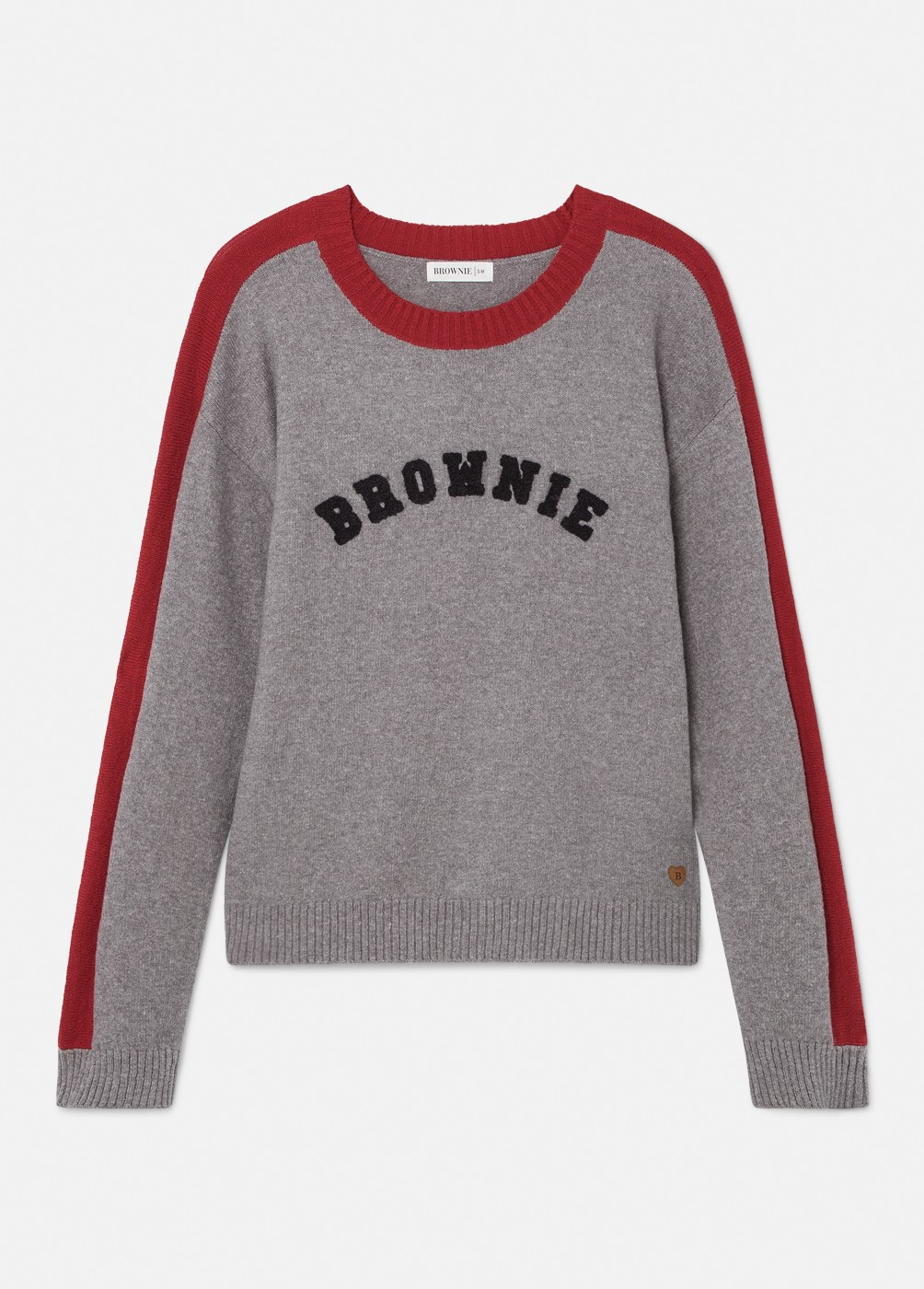 MONET STRIPED SLEEVE BROWNIE JUMPER