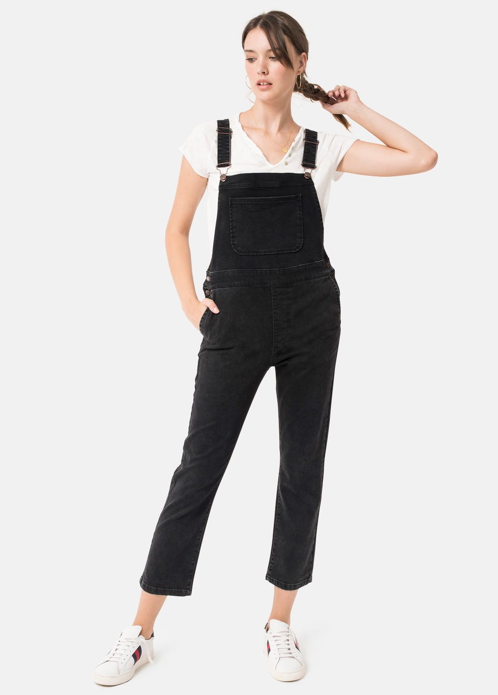 NEW YORK BLACK DUNGAREES