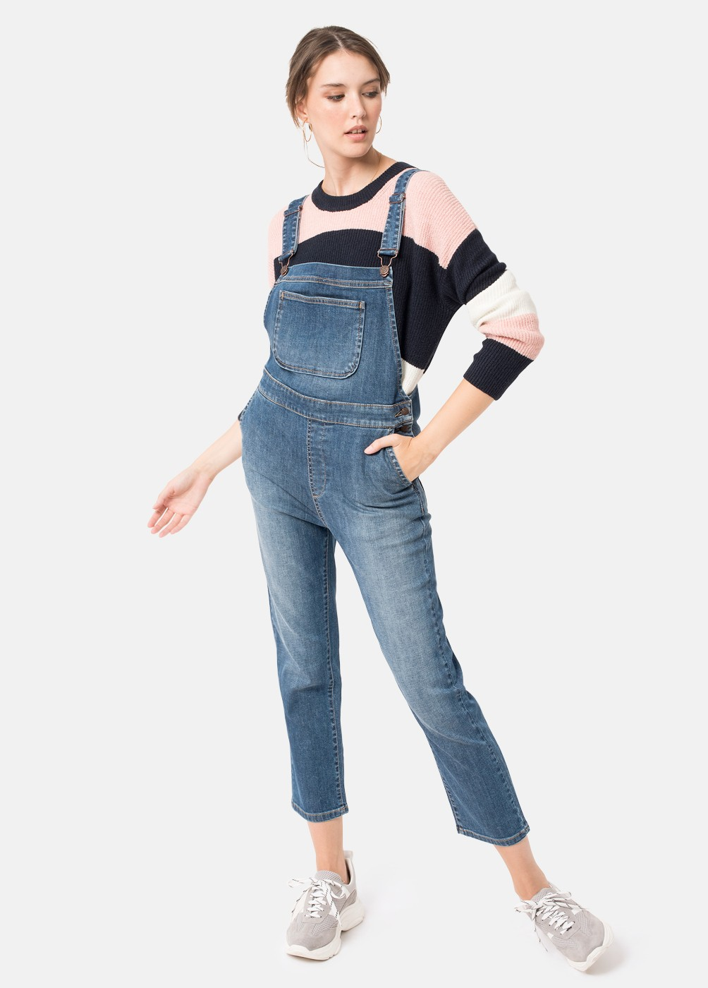 NEW YORK DENIM DUNGAREES