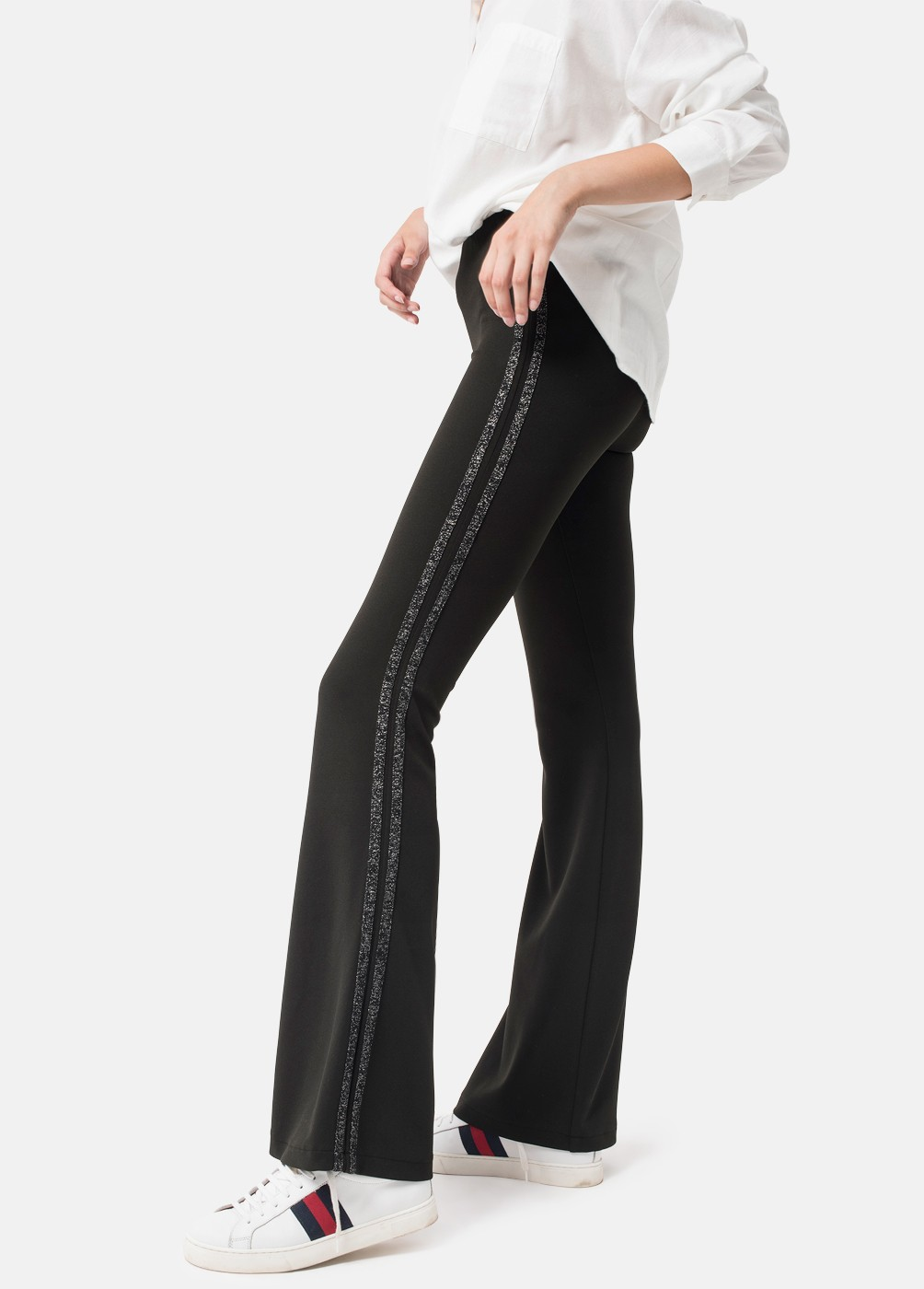 LUREX BELL-BOTTOM TROUSERS