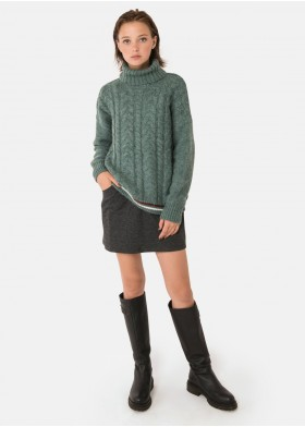 POLT PLAITED JUMPER