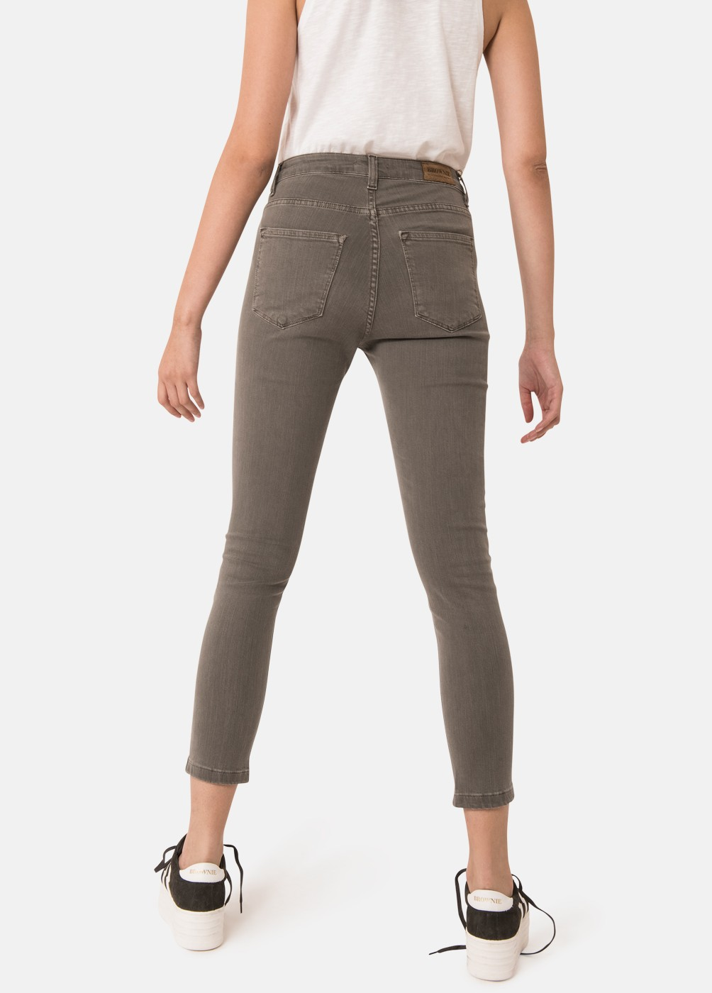 NINAUC HIGH-WAISTED SKINNY FIT JEANS