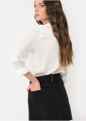 BEGONIA RIPPED SKIRT
