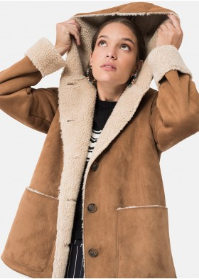 CHARLOTTE DOUBLE HOODED COAT