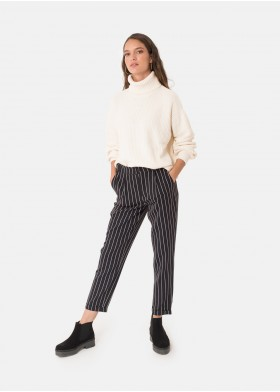BRITT RAI VERSION STRIPED TROUSERS
