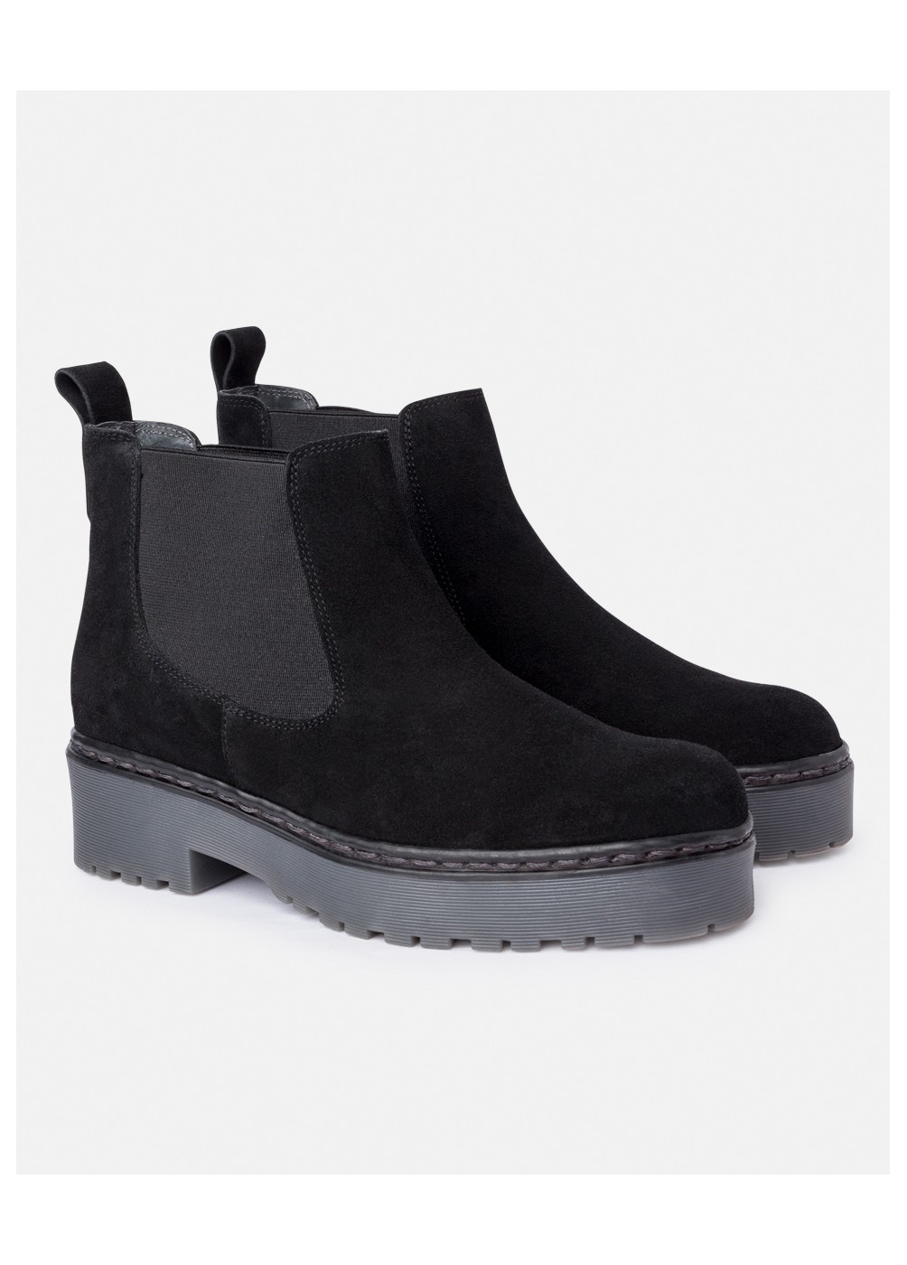 RUBBER CHELSEA BOOTS