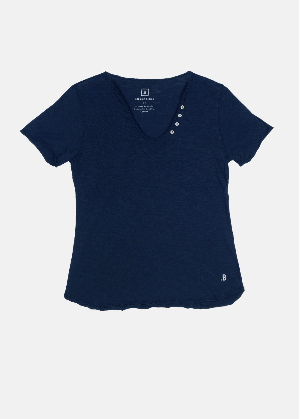 Camiseta Blanca M/C Botones
