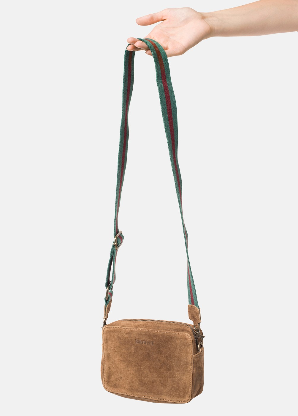 CAROLINA SQUARE BAG WITH STRAP