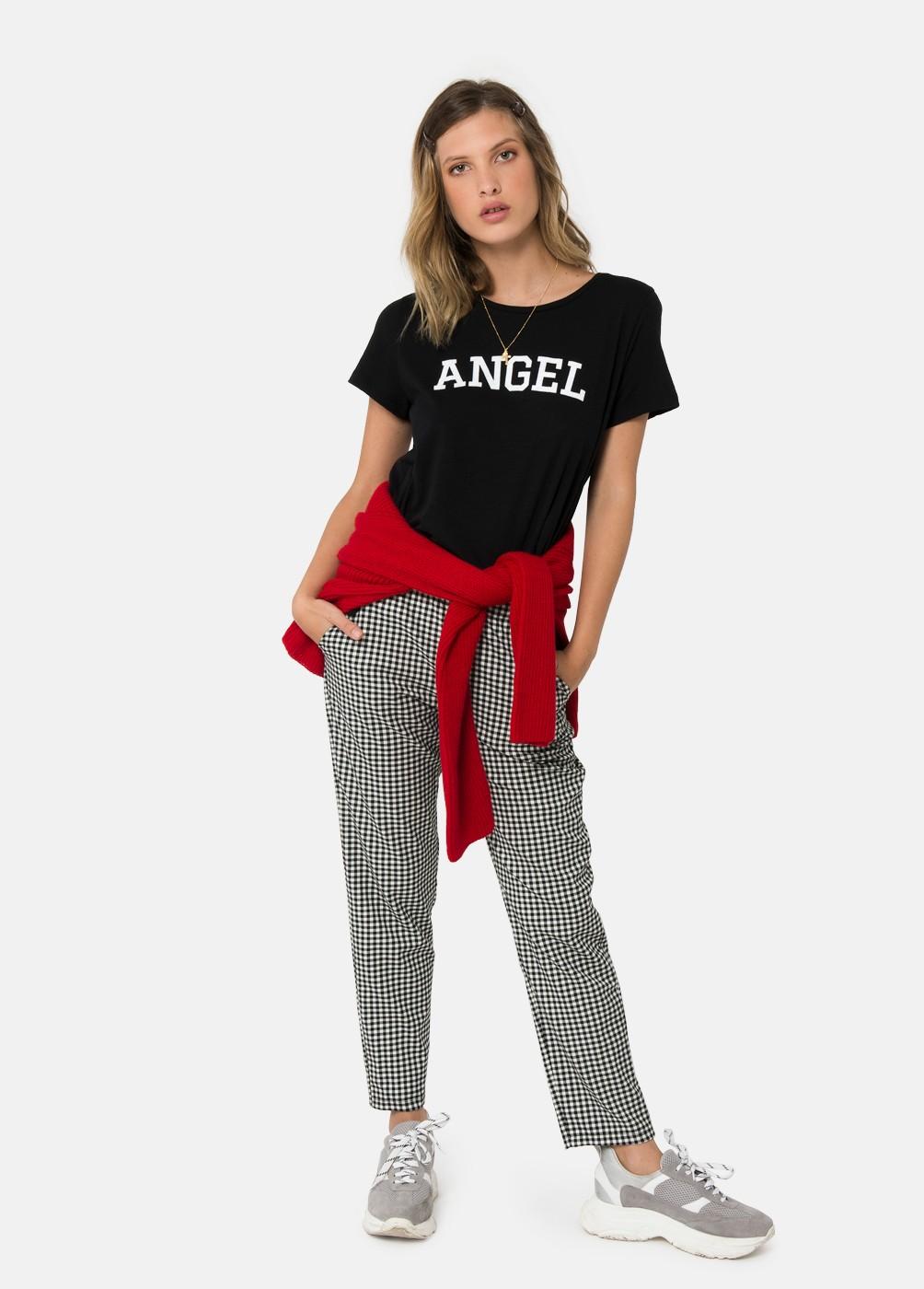 CAMISETA ANGEL BLACK
