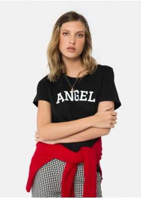 CAMISETA ANGEL2 C/R M/C FLOCK