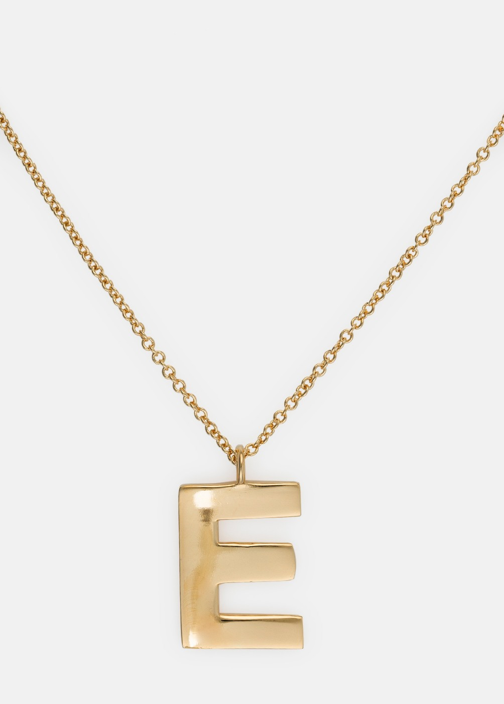 NECKLACE WITH LARGE INITIAL