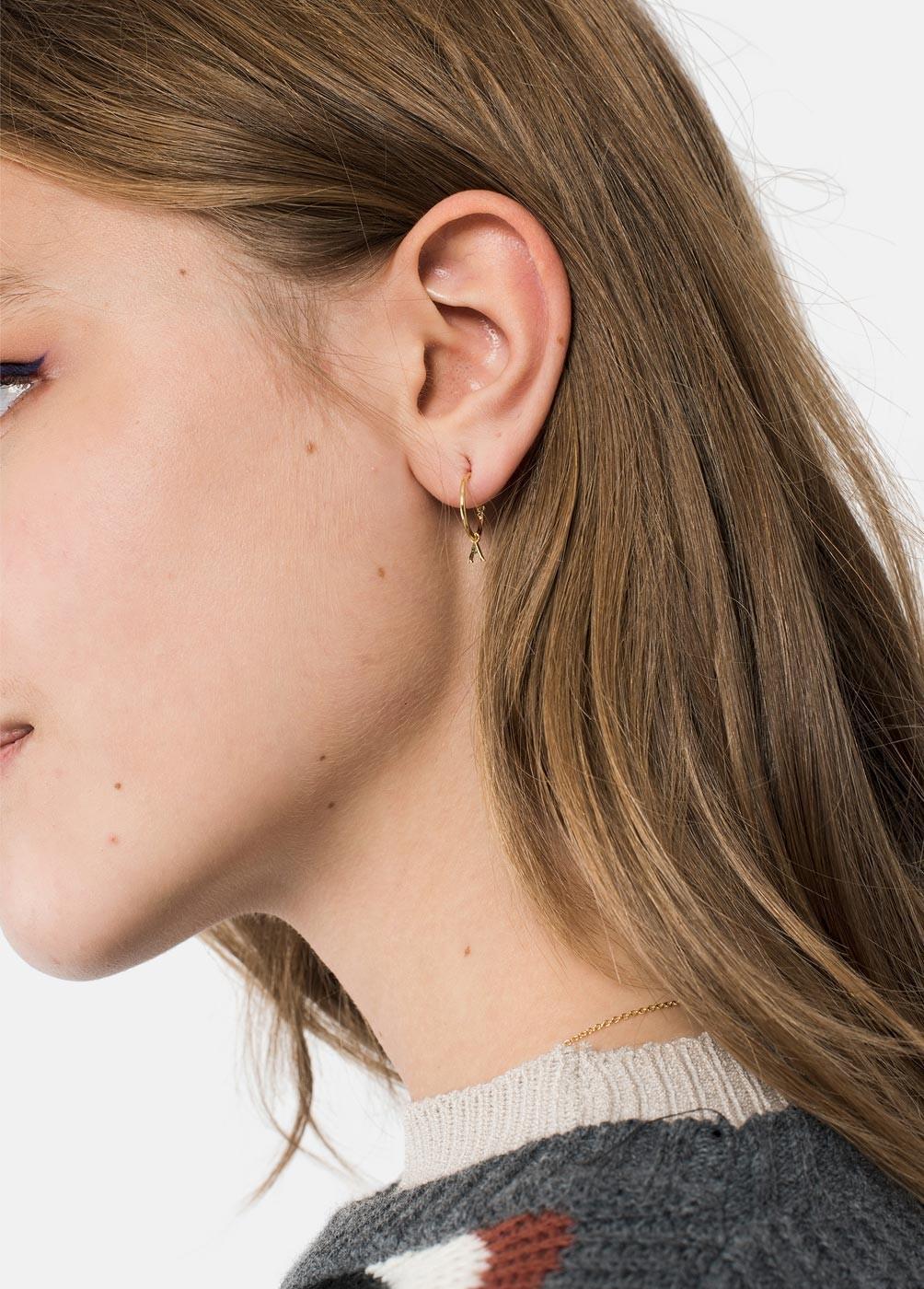 ARITO INITIAL EARRING