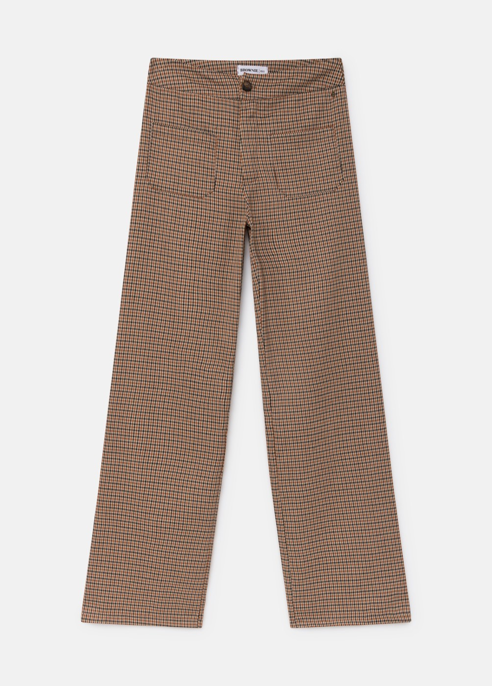 BRITISH POCKET CHECKED TROUSERS