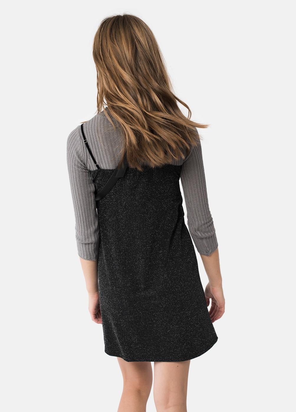 Vestido Oberoi Lurex Tirantes