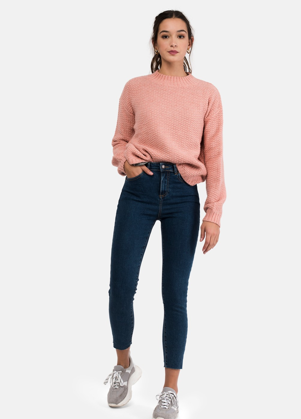 NIN HIGH WAISTED SKINNY JEANS
