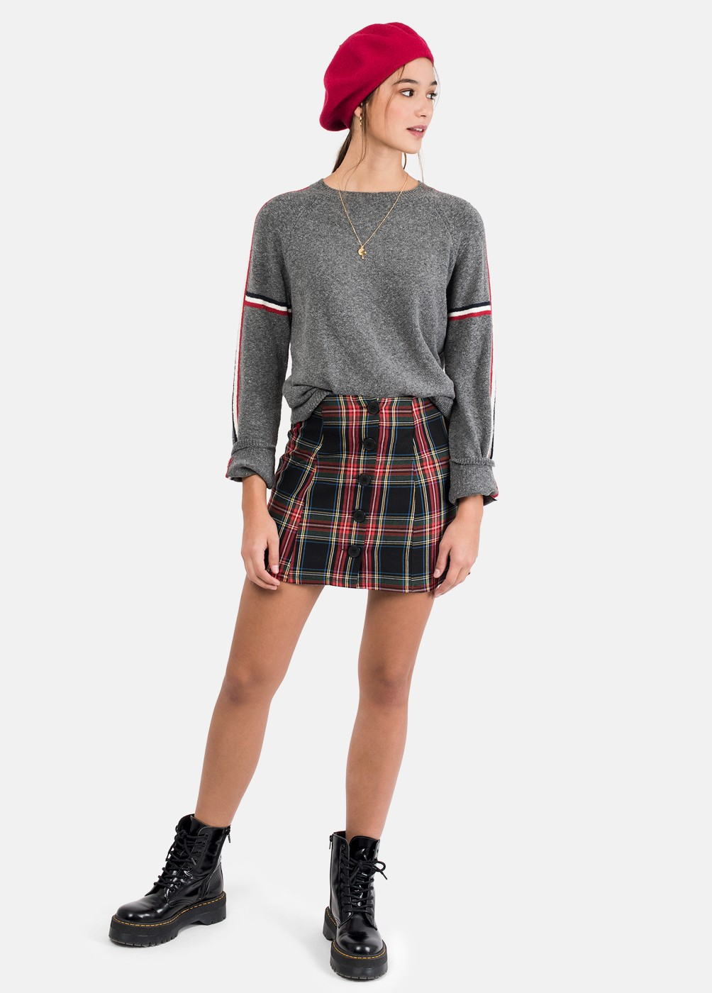 LAKE FRINGE SLEEVE JUMPER