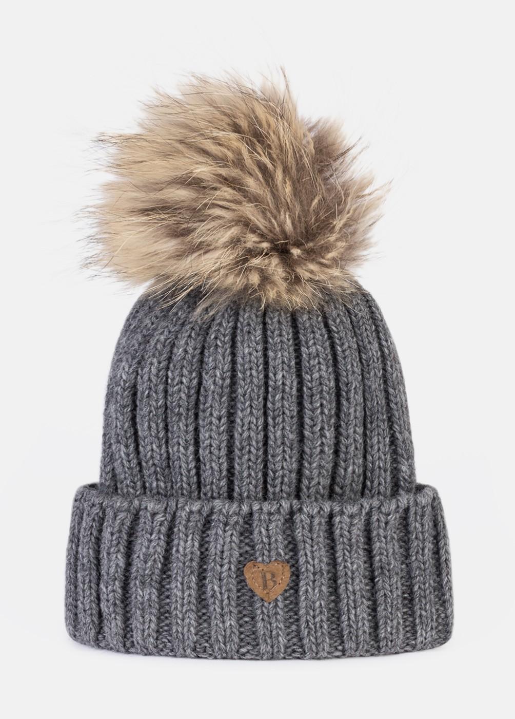 RIBBED HAIR CAP