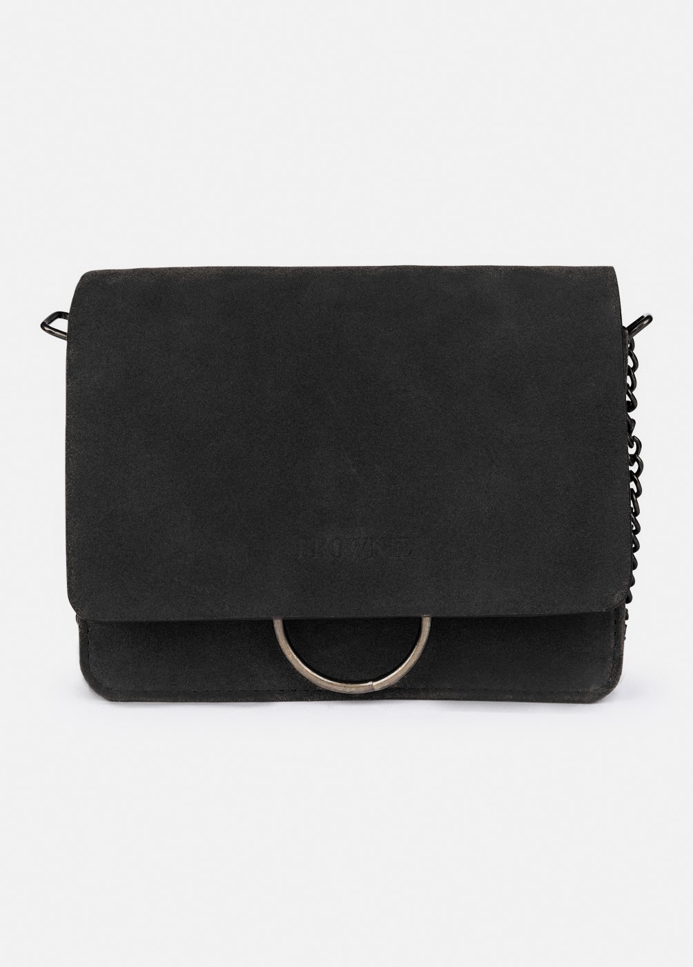 ELYSE RED BAG WITH BUCKLE