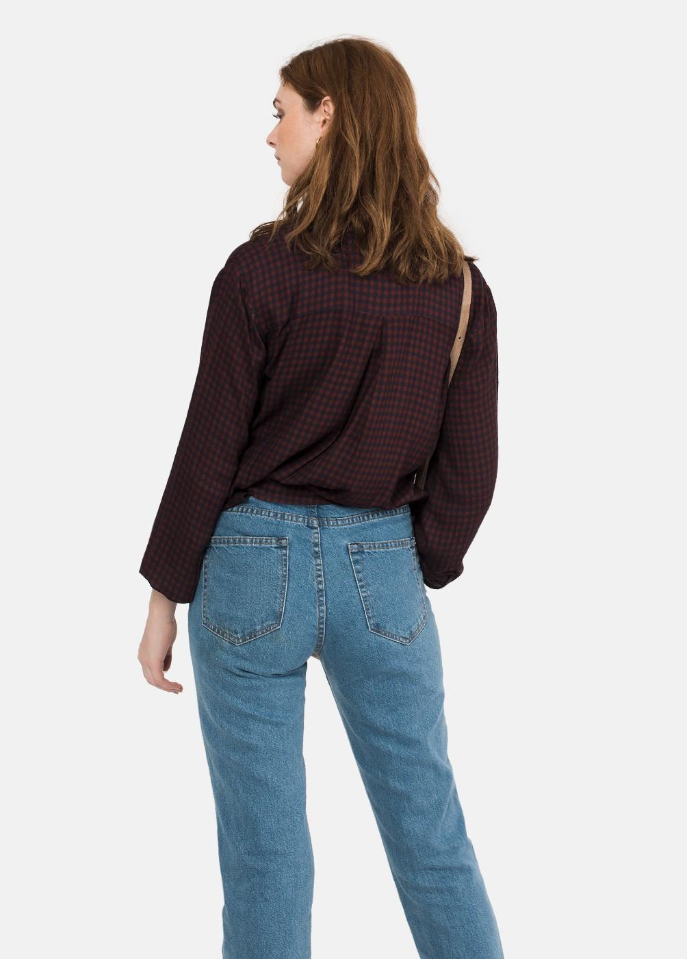 Camisa Aqua Vichy Corta