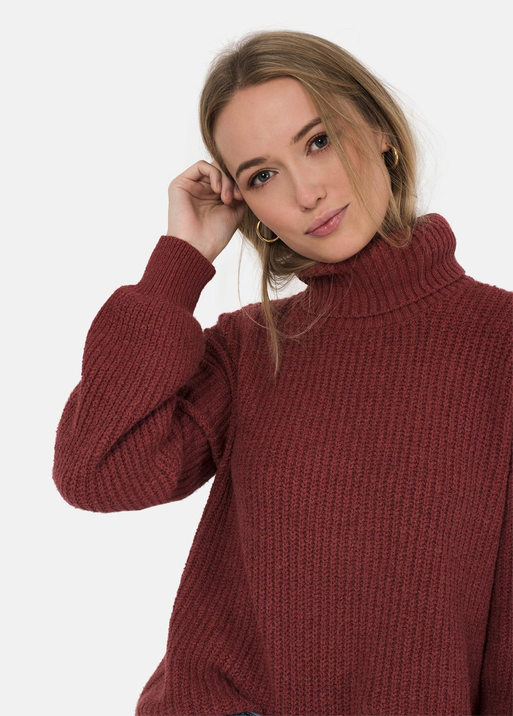 BEE HIGH NECKED JUMPER