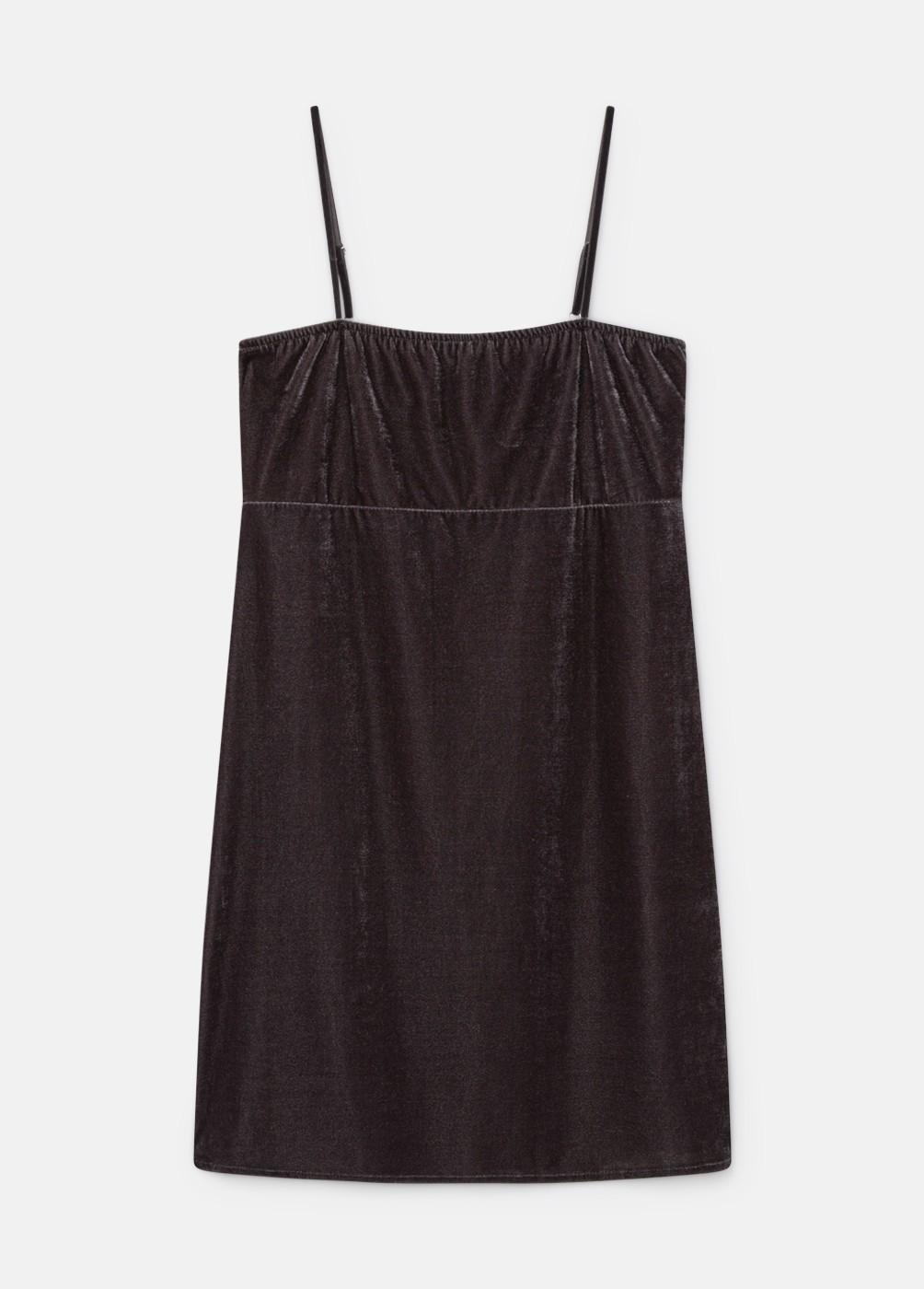 Vestido Oberoi Velvet Tirantes