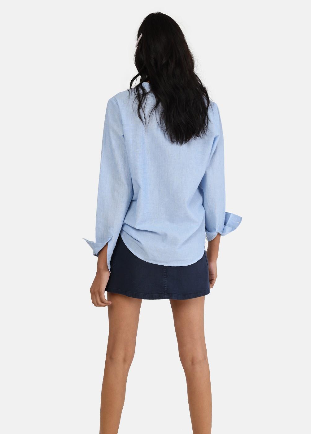 Camisa Blues Chambray