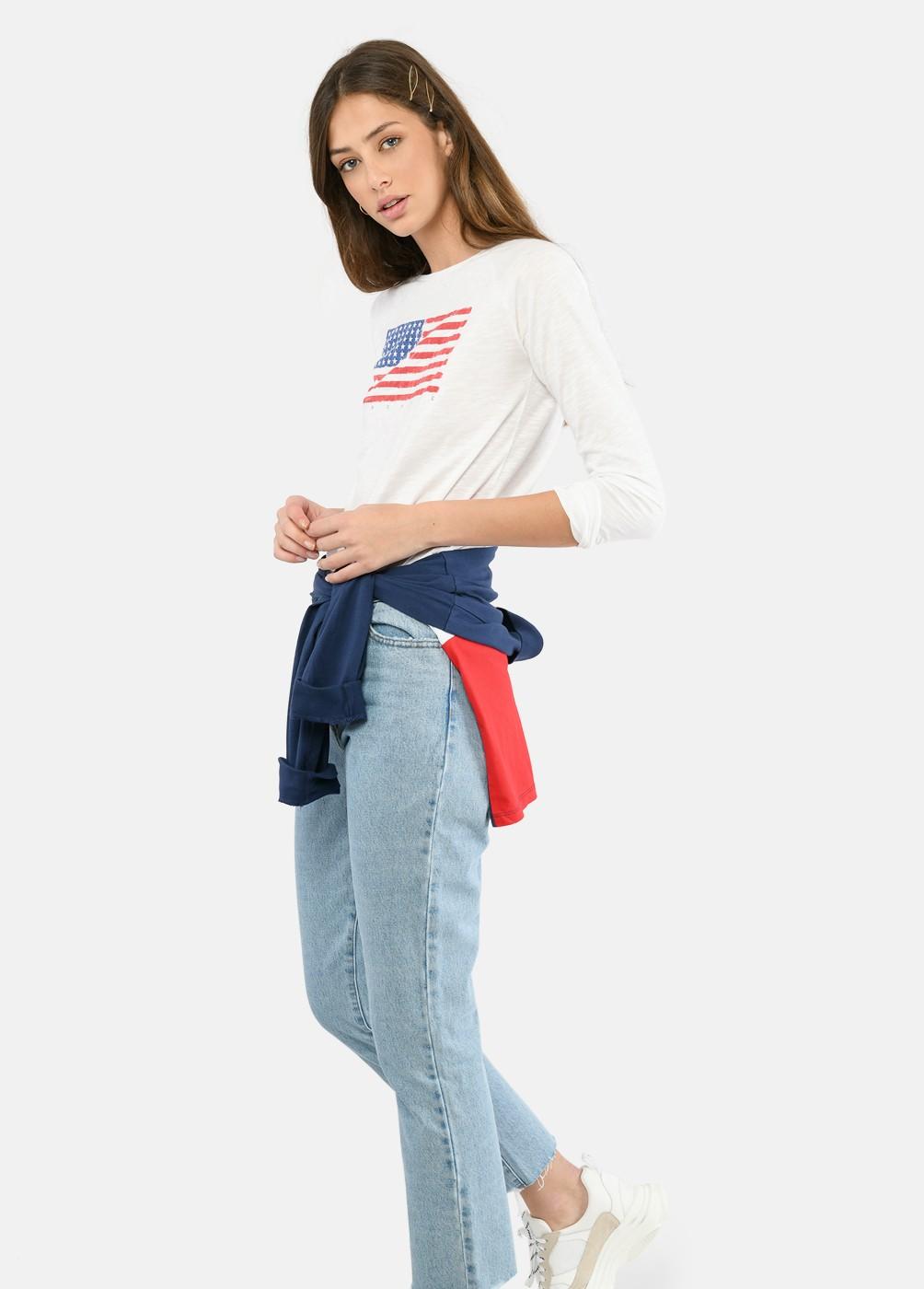 Camiseta Bander Usa M/L