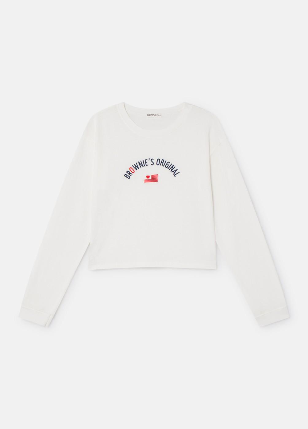 Camiseta Josie C/R M/L Brownie Bandera