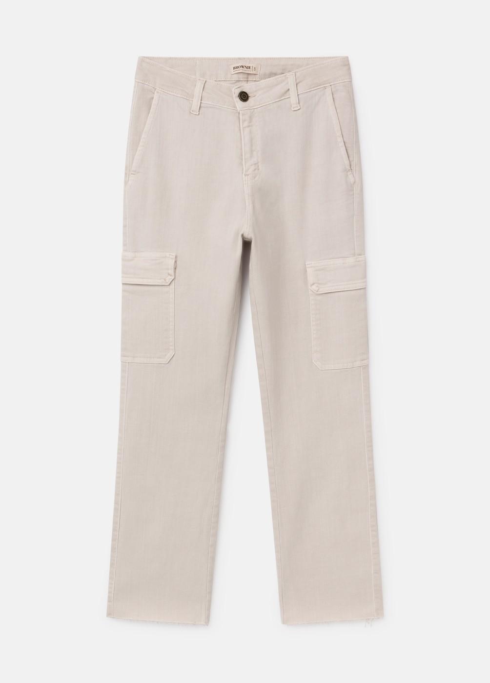 Pantalon Cargo2 Recto Bolsillos