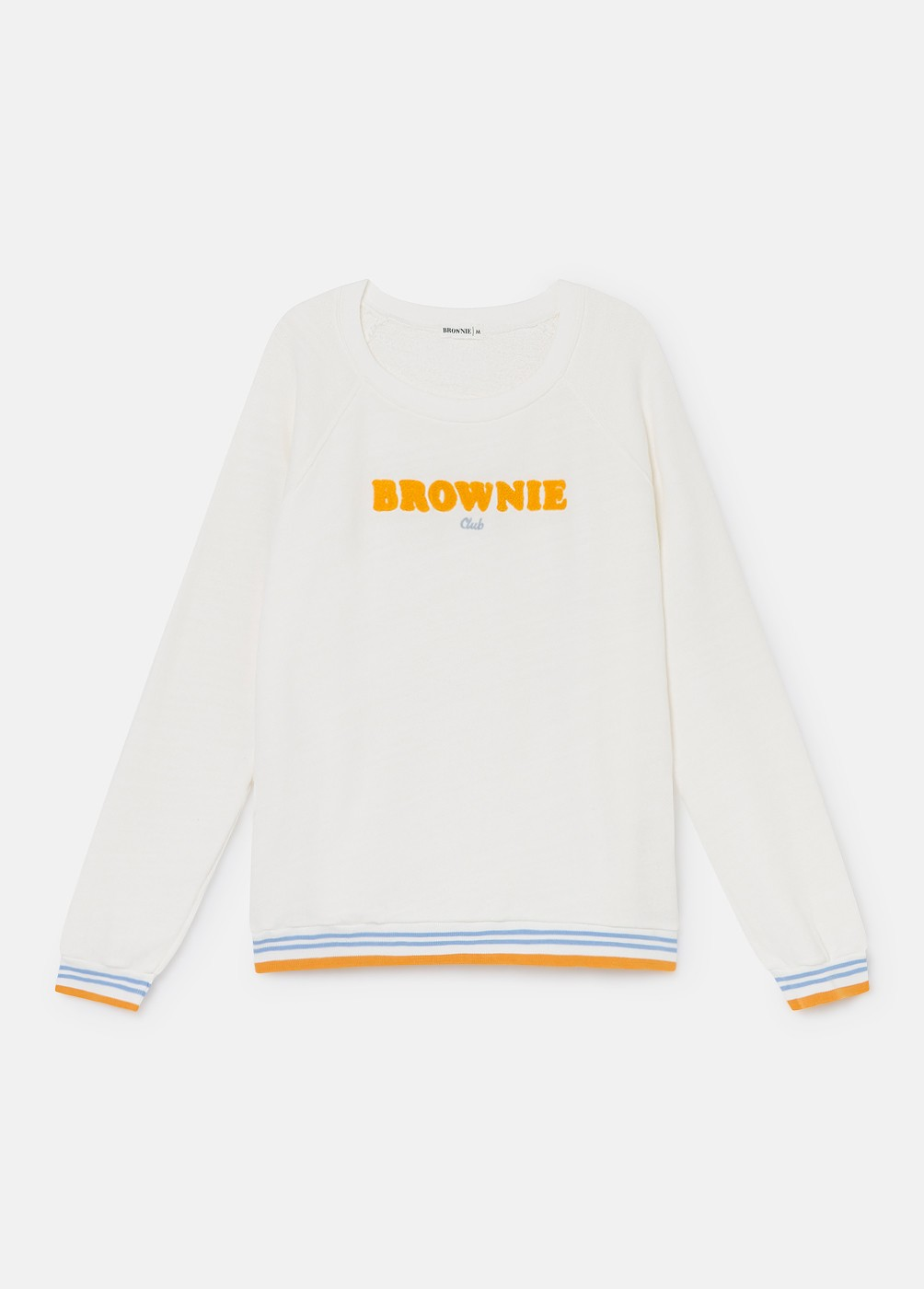 SUDADERA RIB BROWNIE