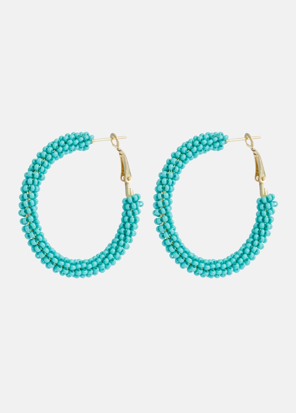Pendientes Aro Beads
