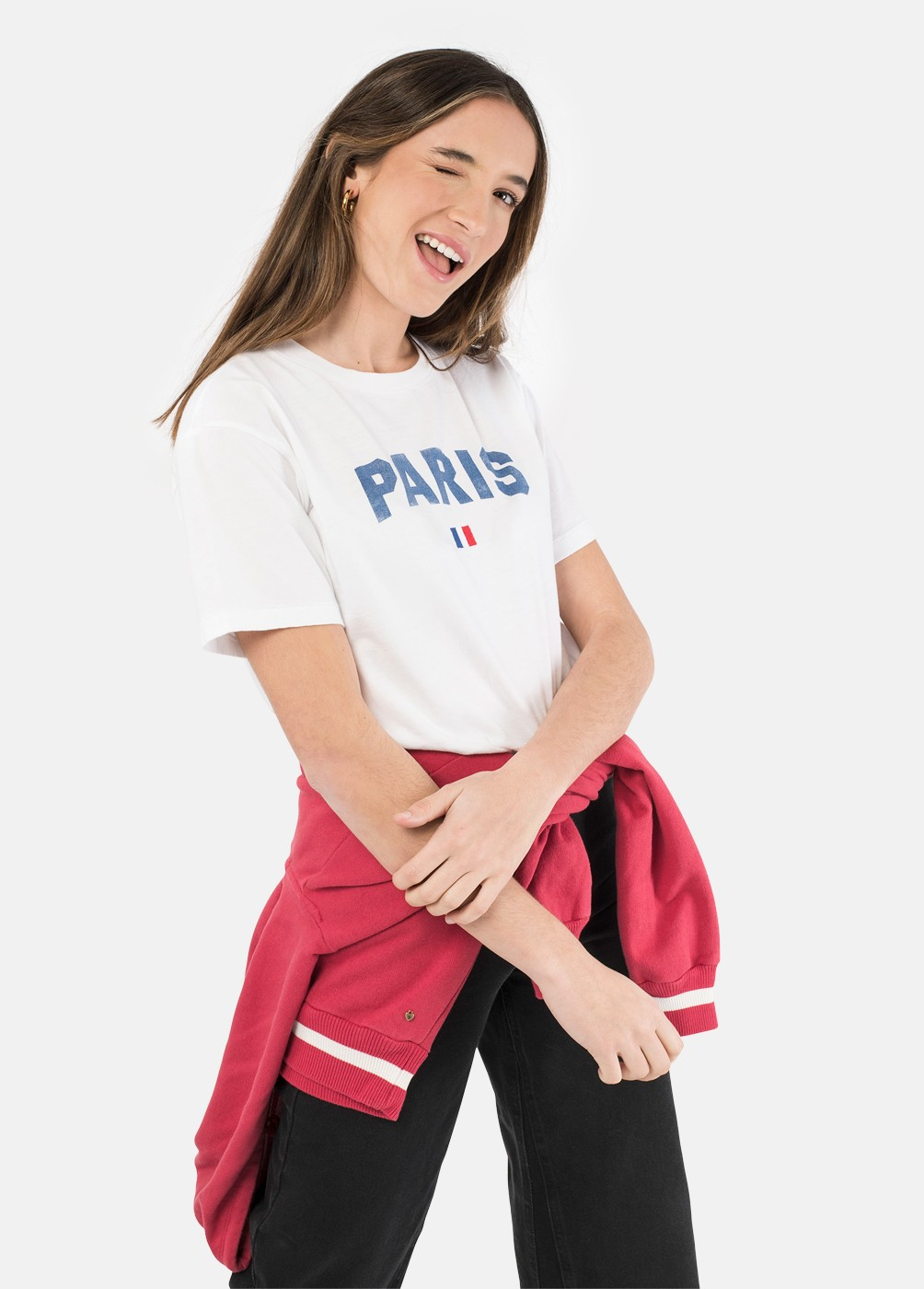 CAMISETA PARIS C/R M/C