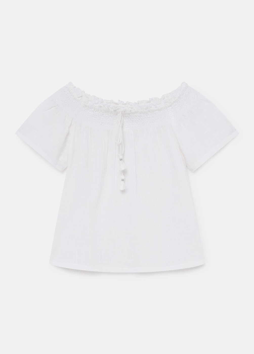 Blusa Lace Smock