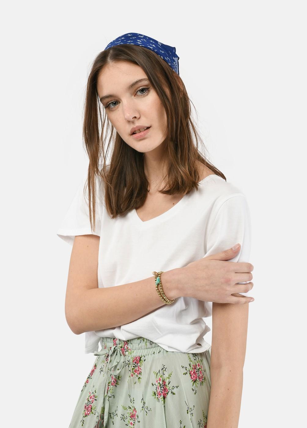 Camiseta Moneti Pico Cropped