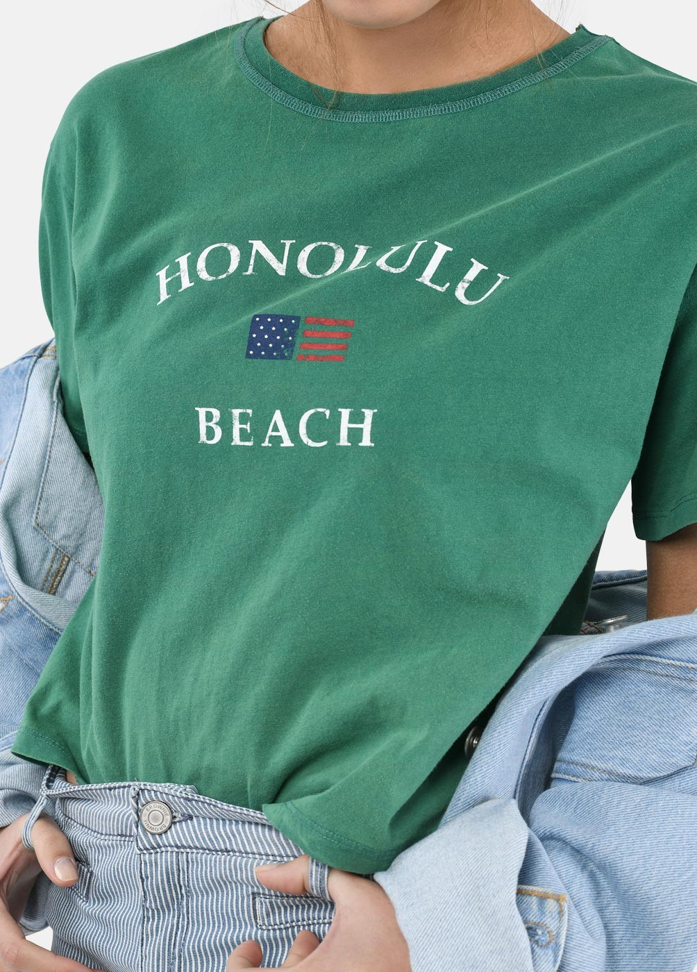 Camiseta Honolulu Bandera