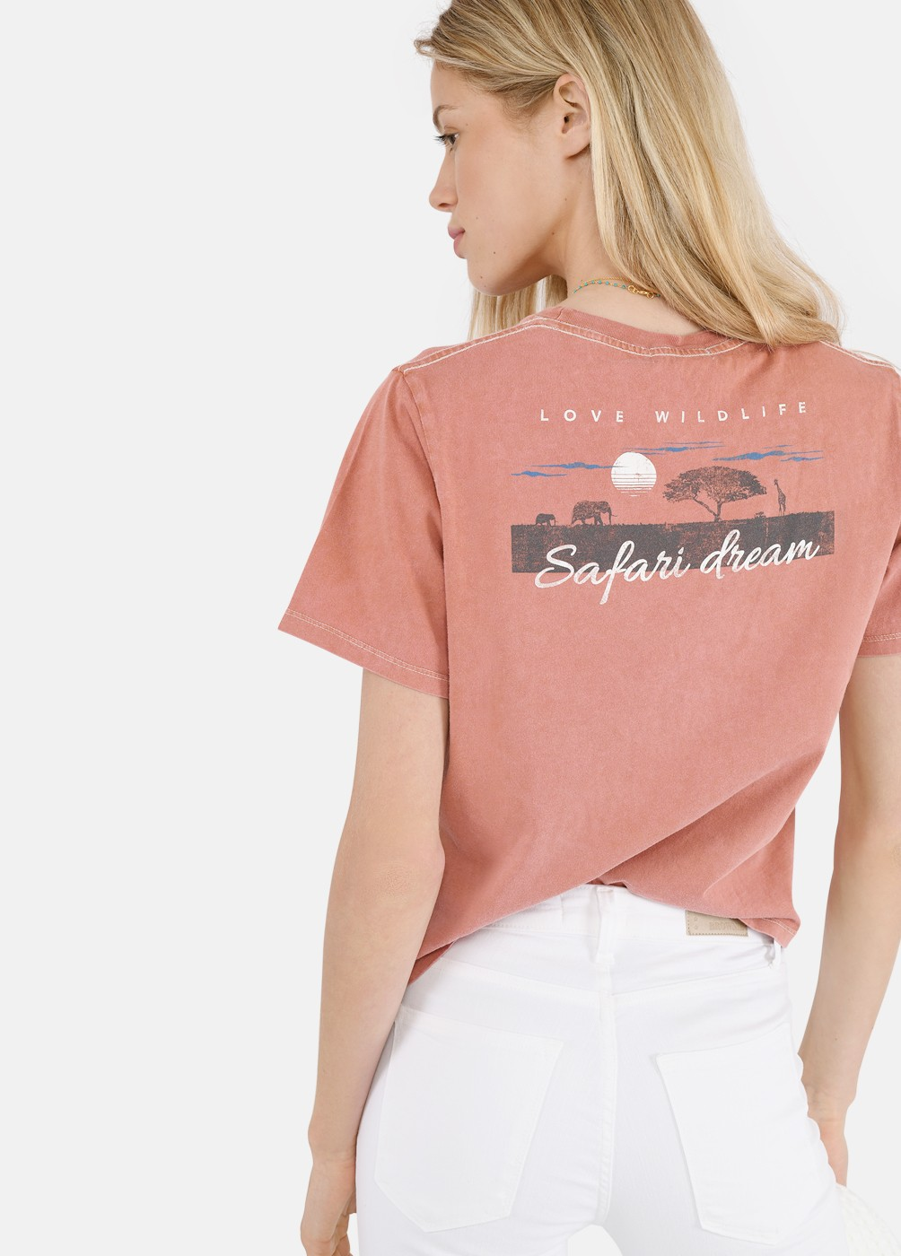Camiseta Sabana Print Safari
