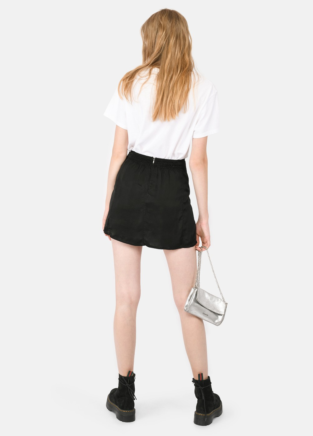 Dafne Mini Skirt With Slit