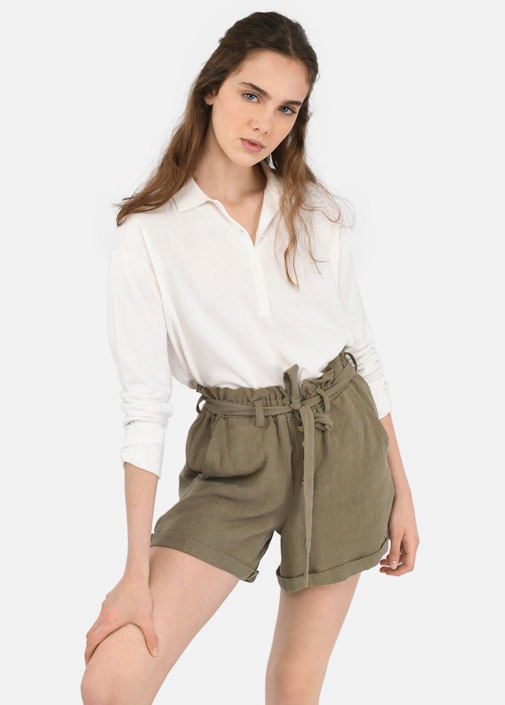 Shorts Ariadna Goma Cintura