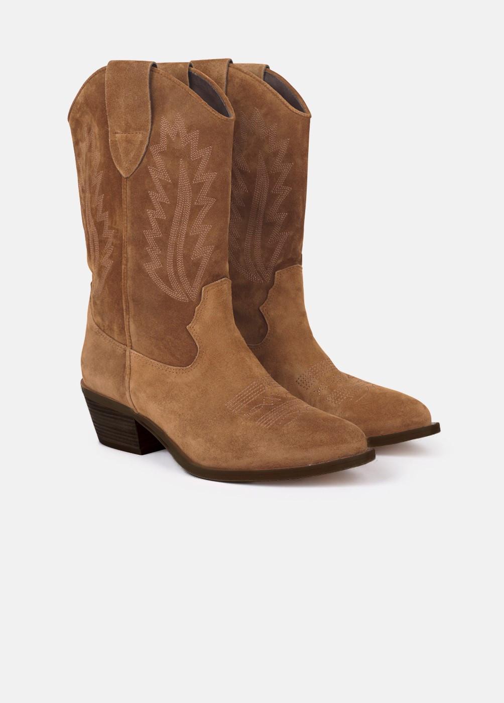 Botas de estilo cowboy, de Brownie (59,90 euros) |Foto: Brownie.