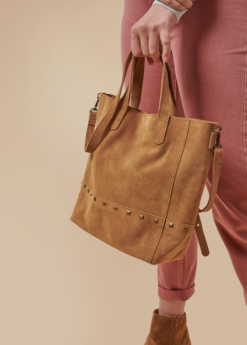 BOLSO JULIETTE SHOPPER TACHAS