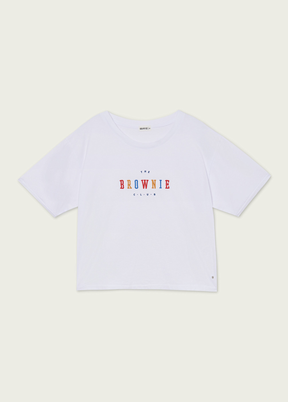 Camiseta Colours Brownie Bordado