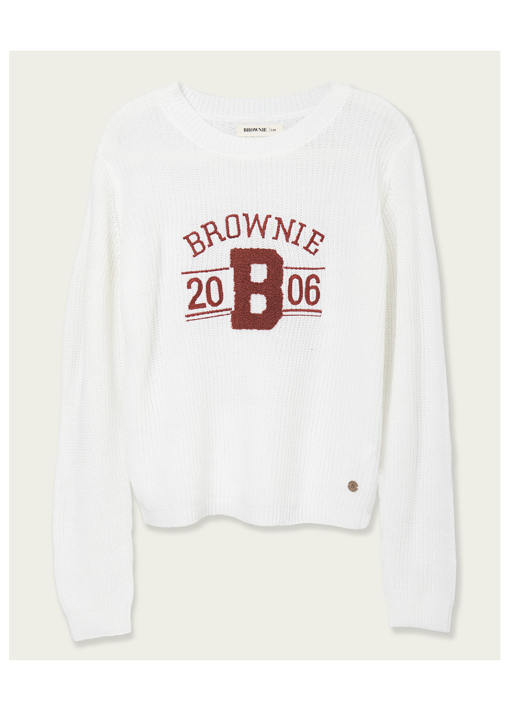 PULL MOUSE BROWNIE BRODÉ