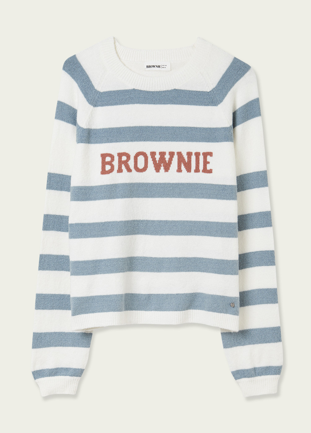 PULL-OVER VILIET BROWNIE RAYURES