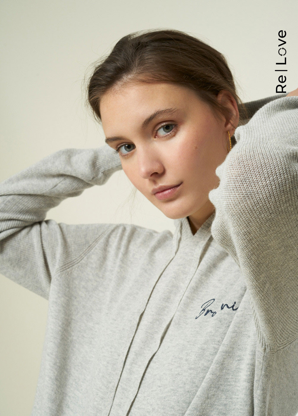 PULL-OVER LANI BROWNIE CAPUCHE
