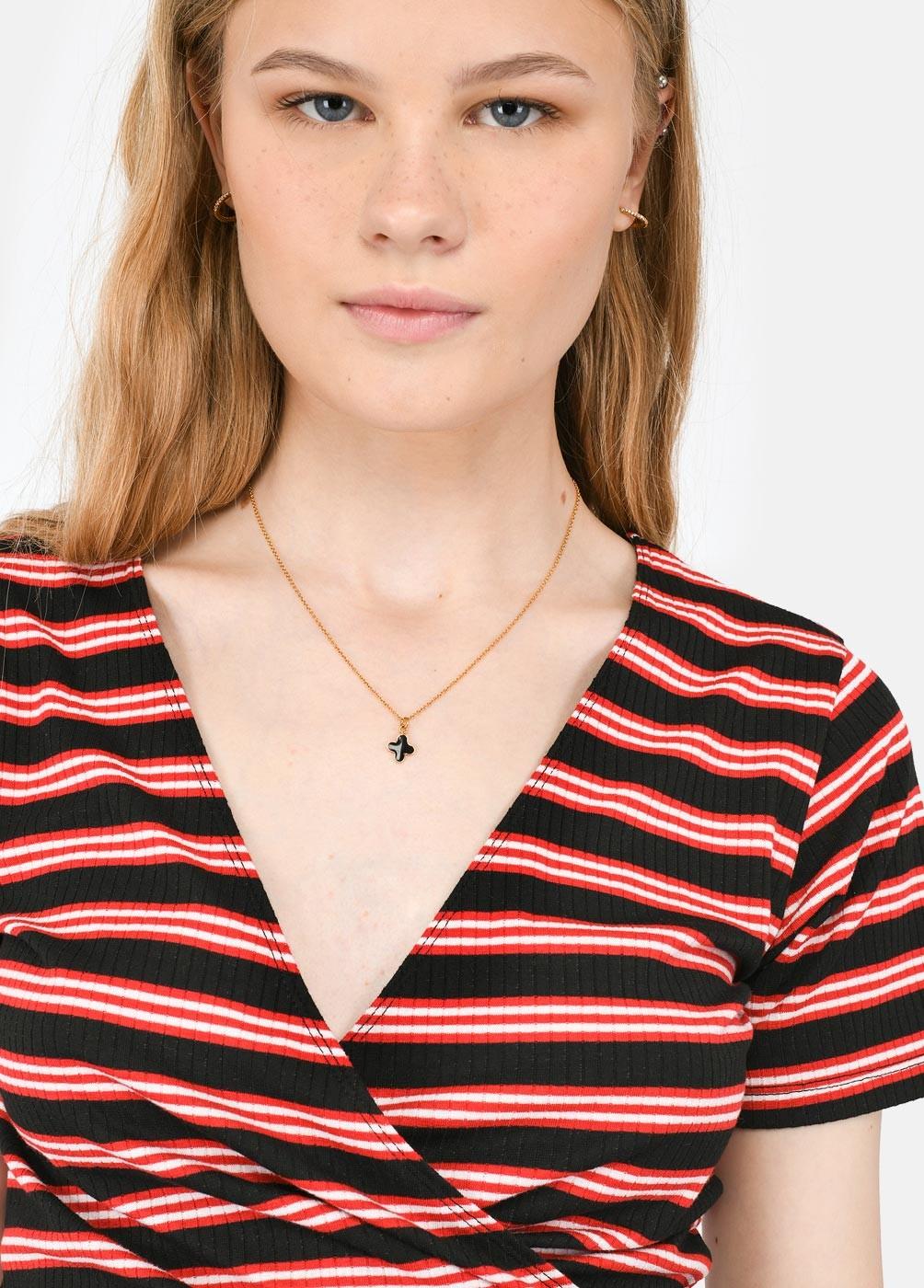 Collar Cruz Lacada