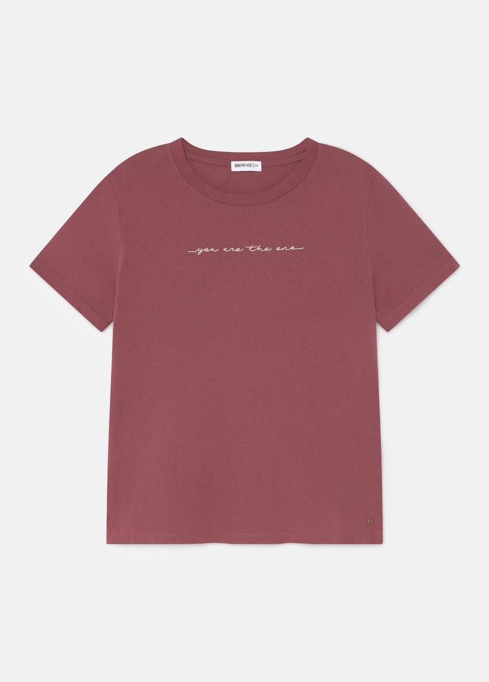 Camiseta One Bordado M/C