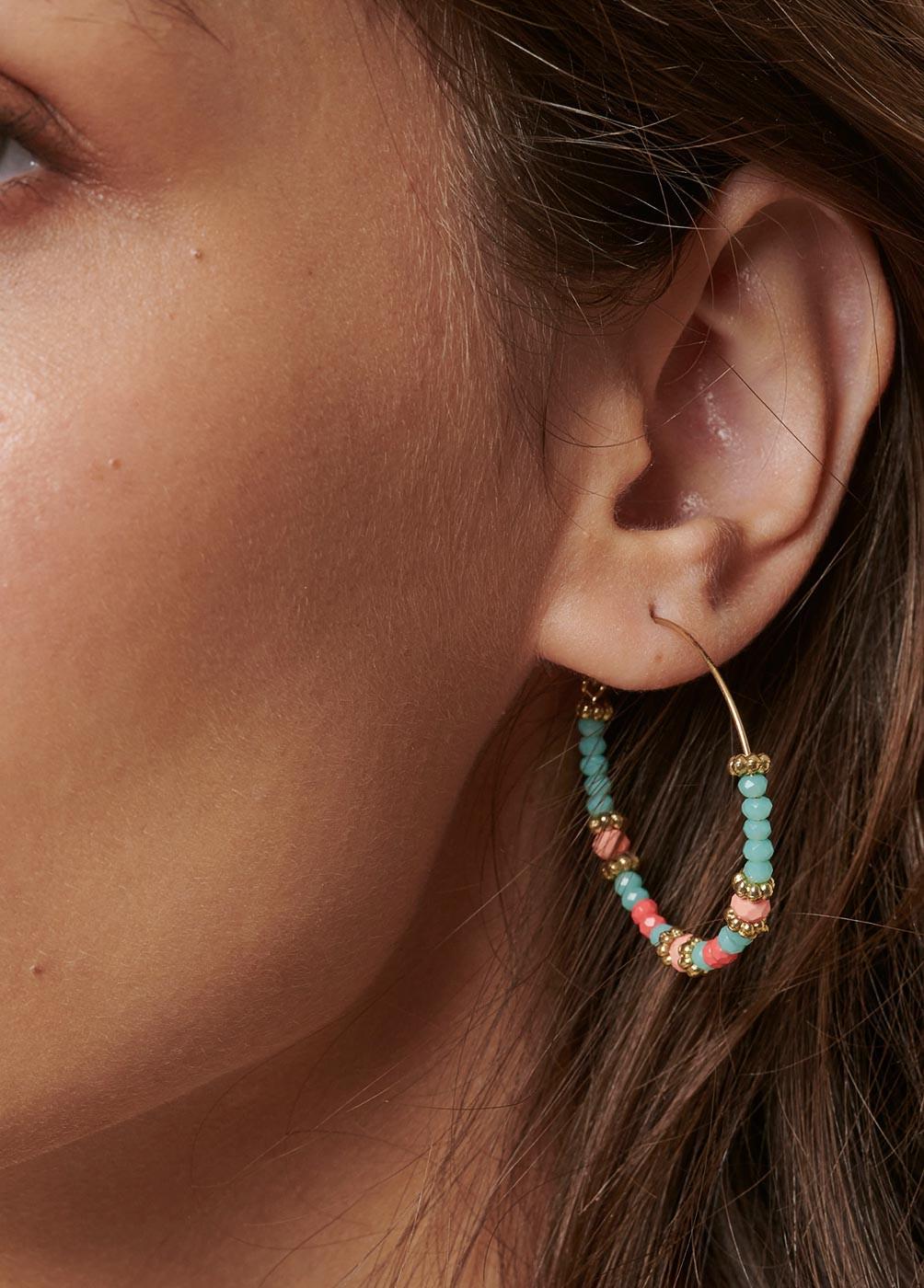 Pendientes Beads Multi