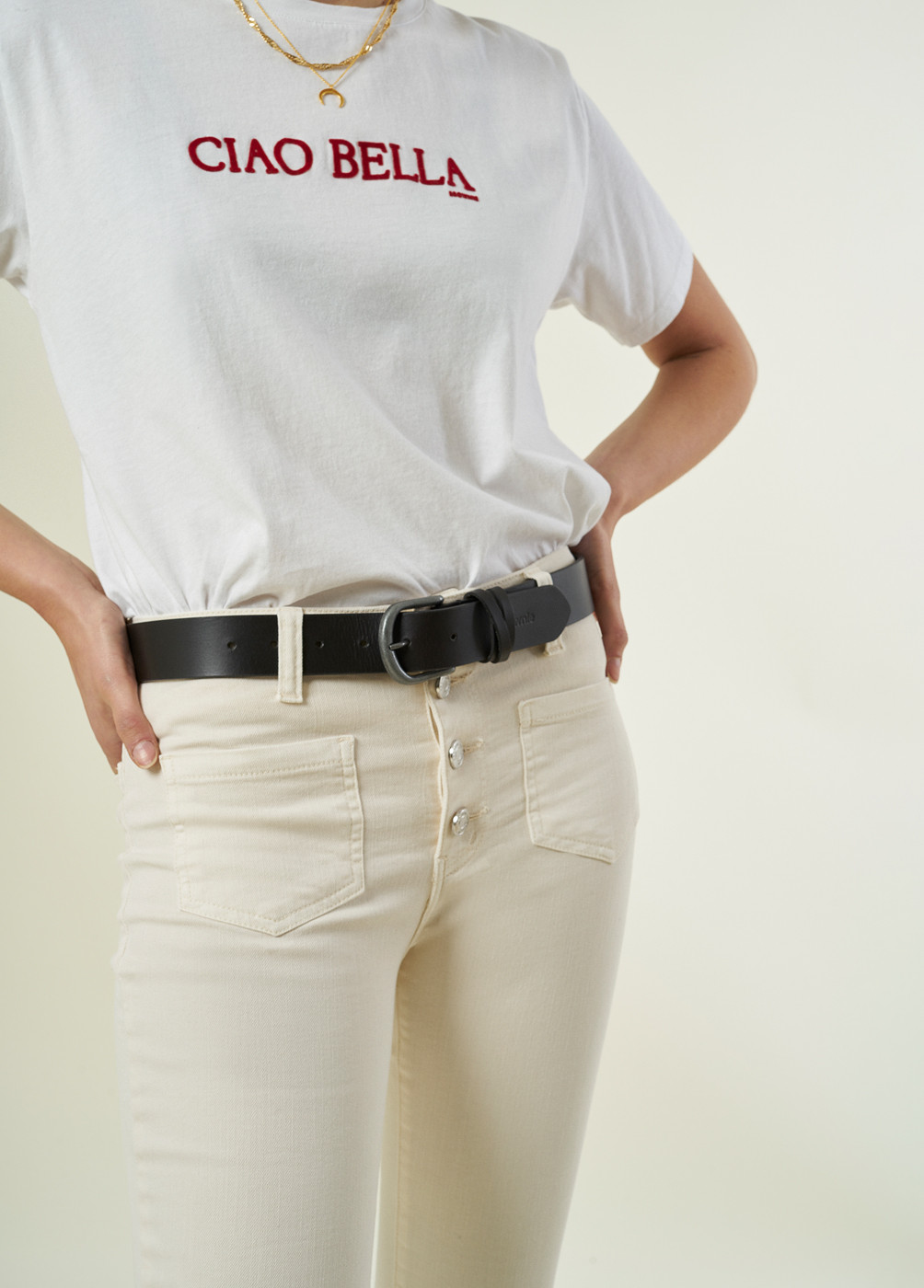 LALY LEATHER BELT