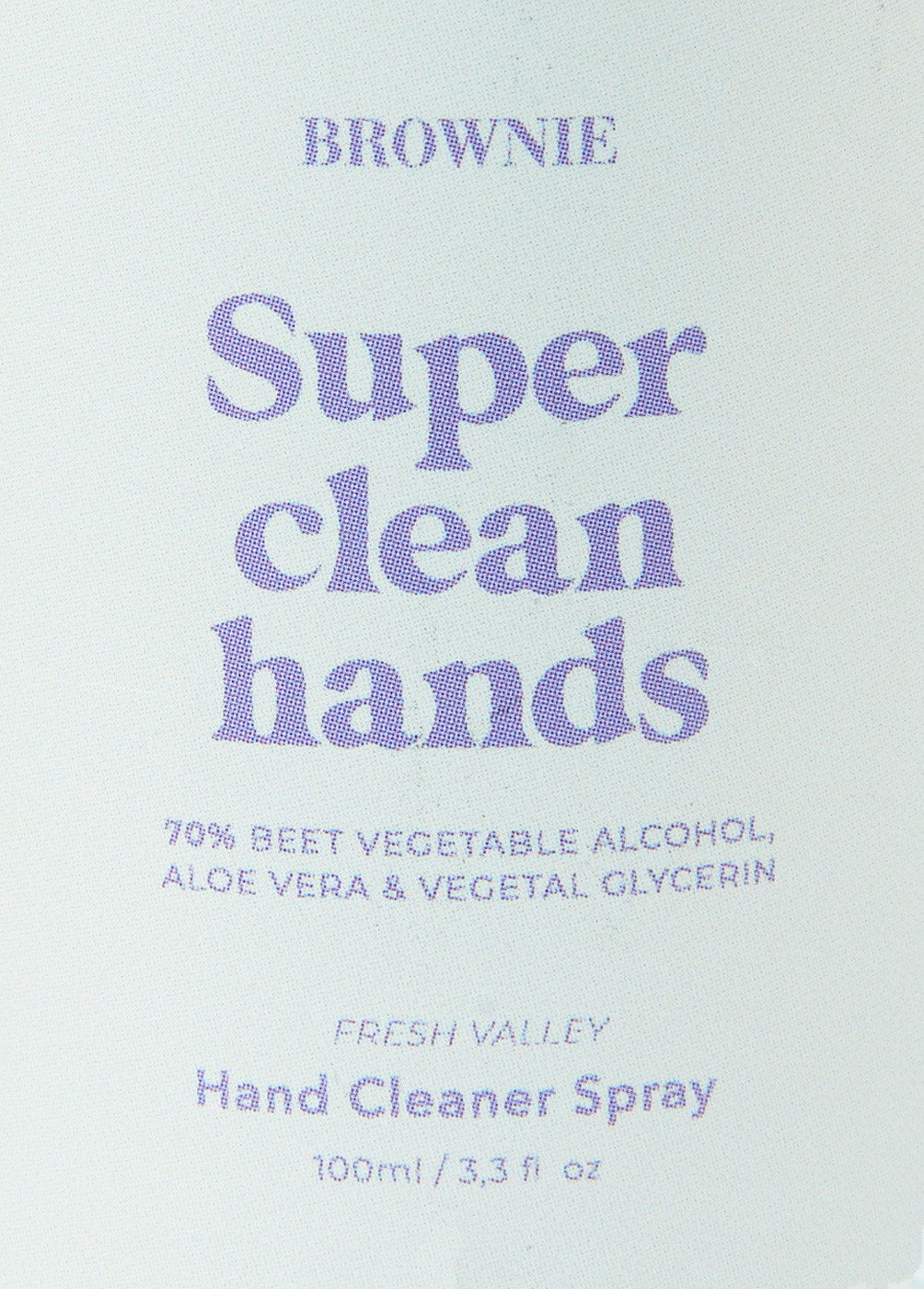 SPRAY SUPER CLEAN HANDS CO - 9