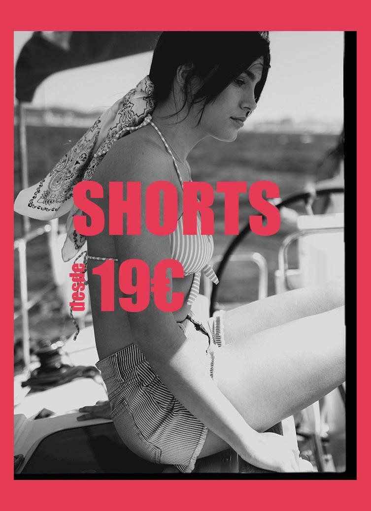 Shorts rebajas